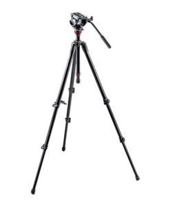 Manfrotto 755XB Tripod w/ MVH500AH Fluid Head