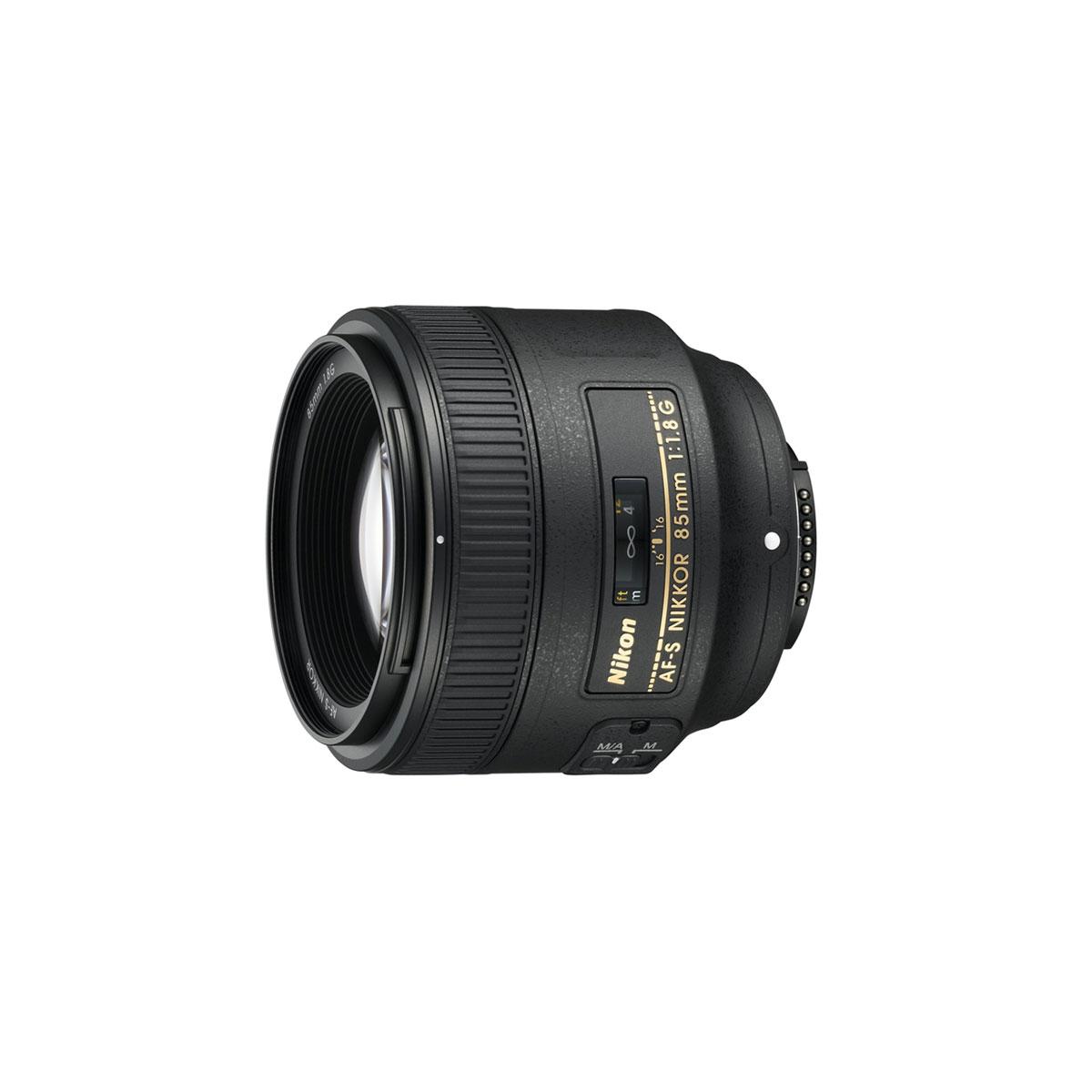 Nikon Af S Nikkor 85mm F 1 8g The Camera Exchange Inc