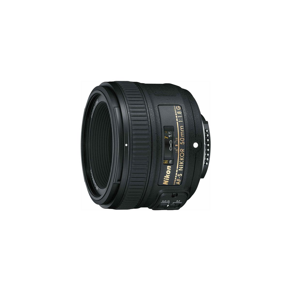 Nikon Af S Nikkor 50mm F1 8g The Camera Exchange Inc