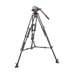 Manfrotto 546B Tripod w/ MVH502A Fluid Head