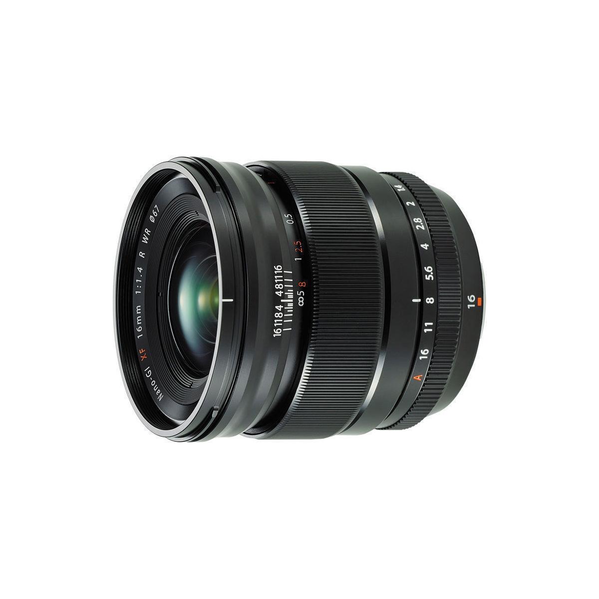 Fujifilm Xf 16mm F1 4 R Wr Lens The Camera Exchange Inc