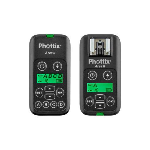Phottix Ares II Wireless Flash Trigger Set