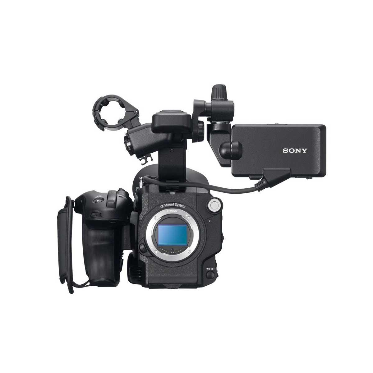 Sony Fs5 4k Camcorder W 18 105 Lens The Camera Exchange