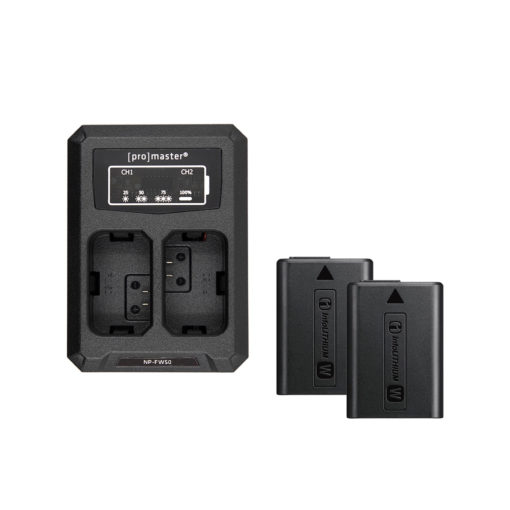 Sony FW-50 Dual Battery and Charger Kit